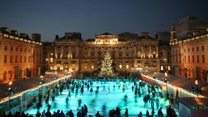Londono lauko ledo čiuožyklos: kur, kas, kada