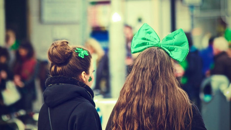 St Patrick's Day paradas Londone