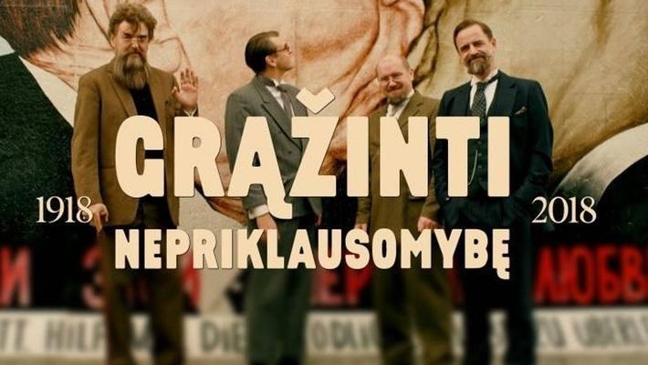 """Lietuviška komedija """"Grąžinti nepriklausomybę"""" Londone"""
