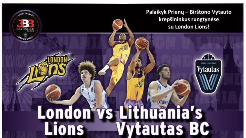 Lietuviškas krepšinis grįžta į Londoną!