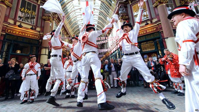 Anglijos globėjo-St George šventė Londone