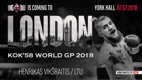 """""""King of Kings 58 World GP"""" bušido turnyras Londone"""