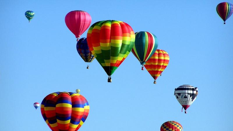 Oro balionų regata Londone