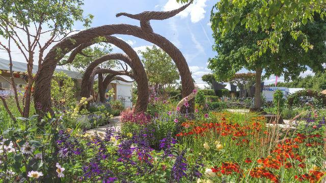 Didžiausias pasaulyje gėlių šou JK