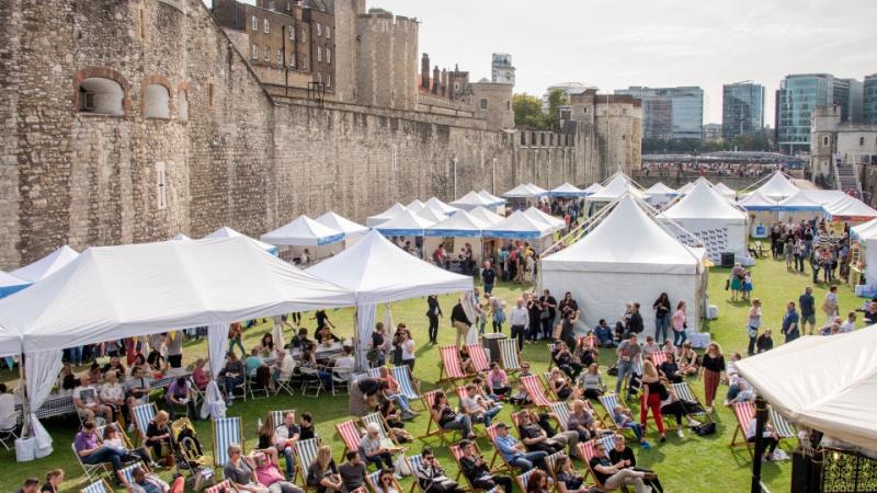 Tower of London maisto festivalis
