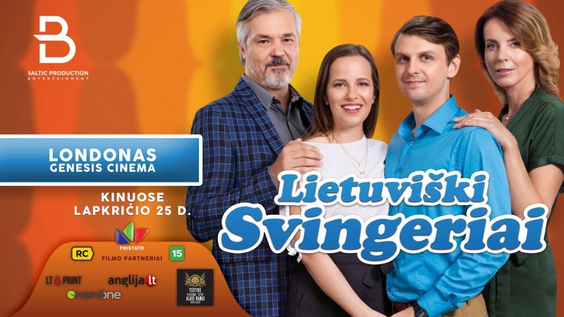 """Filmo """"Lietuviški svingeriai"""" premjera Londone ir Peterborough'e"""