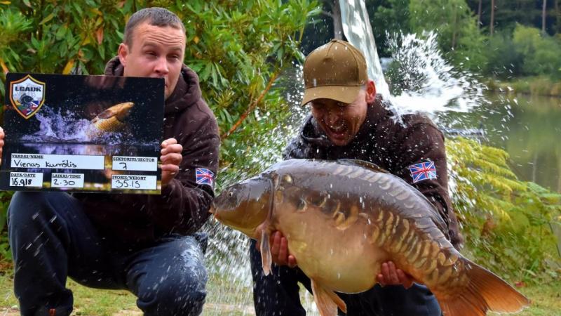 Karpininkų klubo JK vadovas: Anglijoje žvejojame kitaip nei Lietuvoje