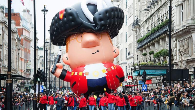 Naujametinis paradas Londone [VIDEO]