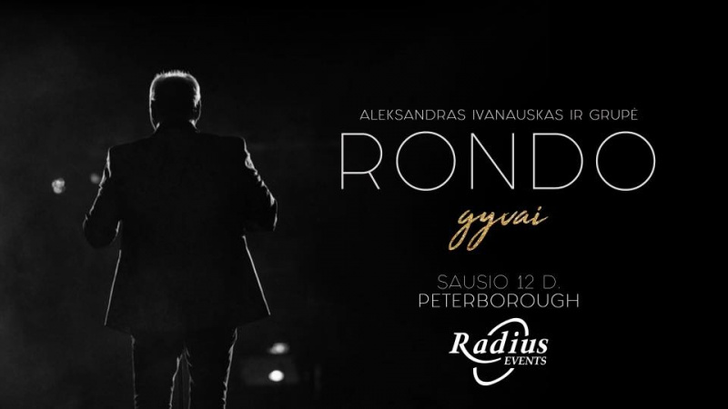 Rondo gyvai - koncertas Peterborough
