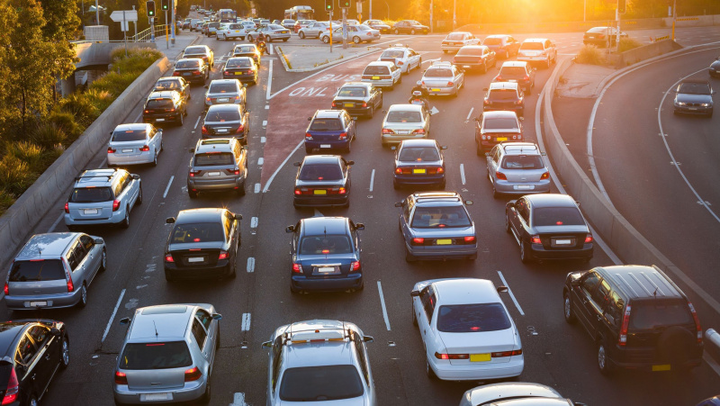 JK vairuotojai kamščiuose per metus praleidžia savaitę savo gyvenimo