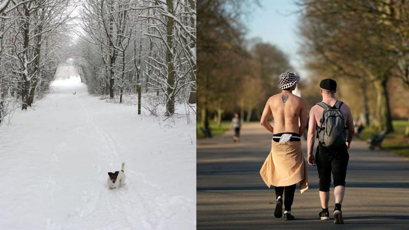 """Praėjus metams po """"pabaisos iš Rytų"""" JK fiksuojamas naujas klimatinis rekordas"""