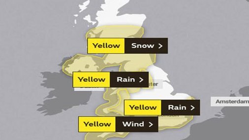 Šeštadienį JK smogs jau antra audra per savaitę