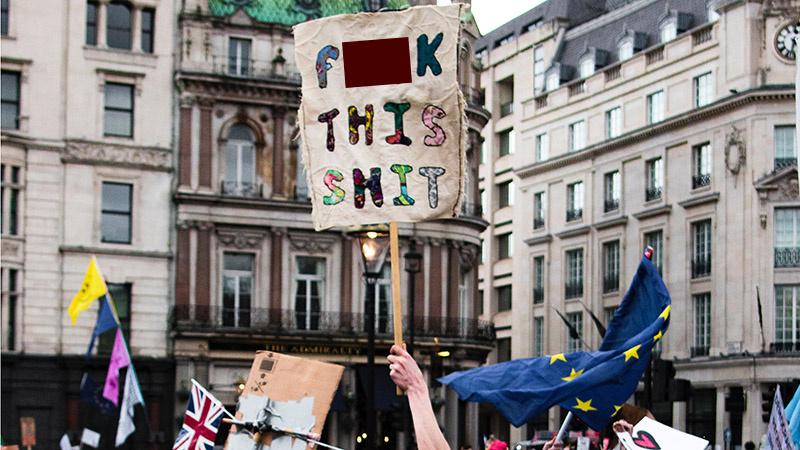 """JK ministras dėl """"Brexit"""" pratrūko keiksmais"""