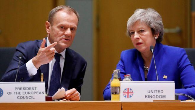 """ES šaltinis: Briuselis Londonui siūlo lankstų 12 mėnesių """"Brexit"""" atidėjimą"""