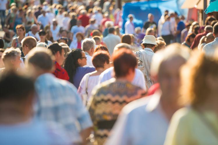 Dėl grynosios migracijos gyventojų skaičius Anglijoje 2029 m. viršys 60 mln.