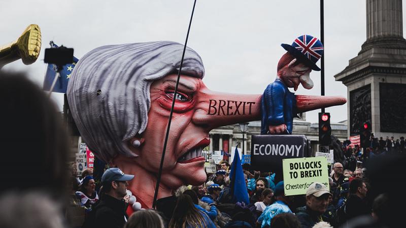 """Partija """"Brexit"""" - rinkimų į Europos Parlamentą favoritė"""
