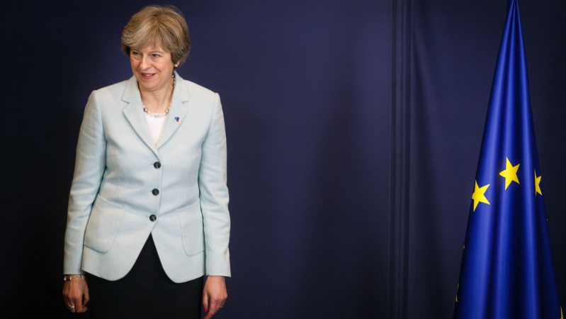 Th. May: Didžioji Britanija ES palikti gali jau artimiausiomis savaitėmis