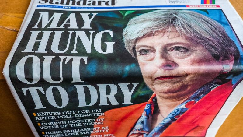 """Th. May vos nesugriovė vykstančių derybų dėl """"Brexit"""""""