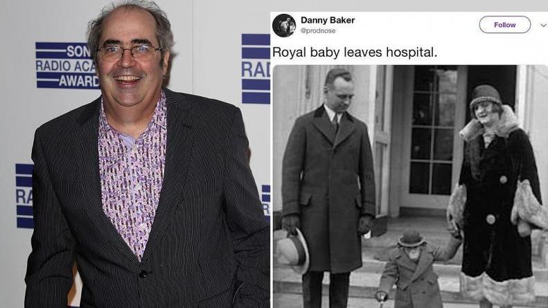 """BBC laidų vedėjas neteko darbo dėl """"Twitter"""" žinutės apie karališkąjį kūdikį"""