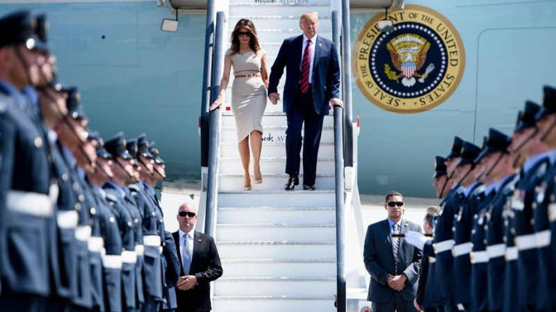 Į JK trijų dienų vizito atvyksta Amerikos prezidentas D. Trumpas