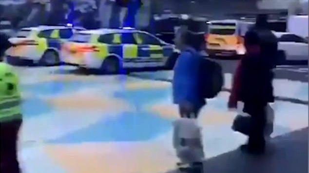 100 jaunuolių gauja Londone susirėmė su policija, nukentėjo 4 pareigūnai [VIDEO]