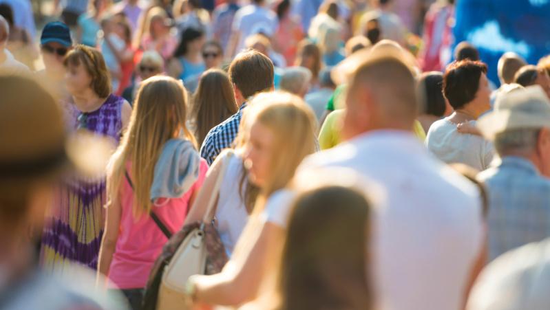 JK gyventojų skaičius per metus išaugo 400 tūkst., daugiausia dėl imigracijos