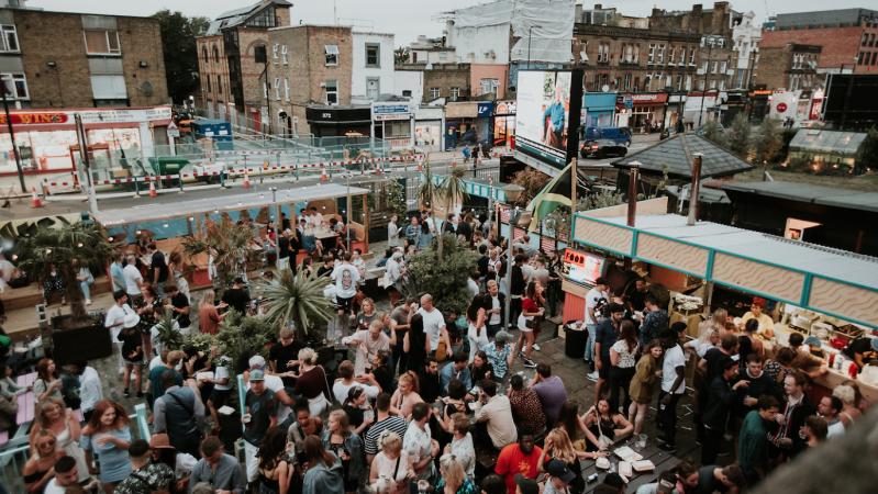 Savaitgalį Londone - vištienos ir romo festivalis