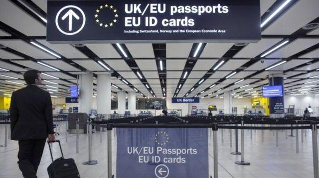 "JK uždrausta ES piliečiams skirta ""klaidinanti"" ""Home Office"" reklama dėl ""Brexit"""