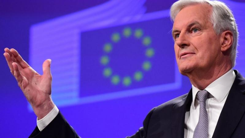 """ES """"Brexit"""" derybininkas atmeta bet kokius B. Johnsono reikalavimus dėl Airijos sienos"""
