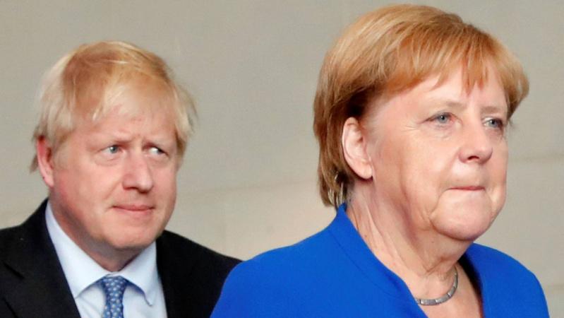 """JK valdžia: """"Brexit"""" susitarimas po B. Johnsono ir A. Merkel pokalbio """"iš esmės neįmanomas"""""""