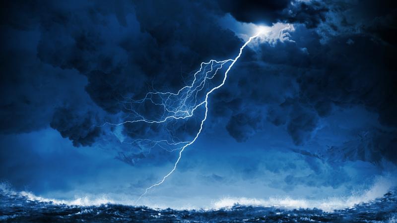 JK prognozuojamos audros, griaustinis, žaibai ir gūsingas vėjas, tačiau savaitgalį bus geriau