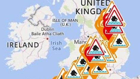 Savaitgalio orai JK – daugiau potvynių ir elektros tiekimo sutrikimai