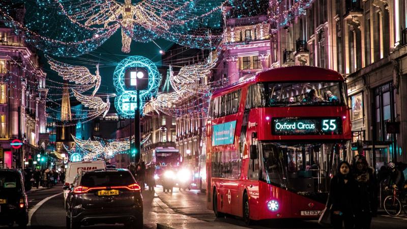 Londono viešojo transporto sistemos darbas per šventes: visa svarbiausia informacija