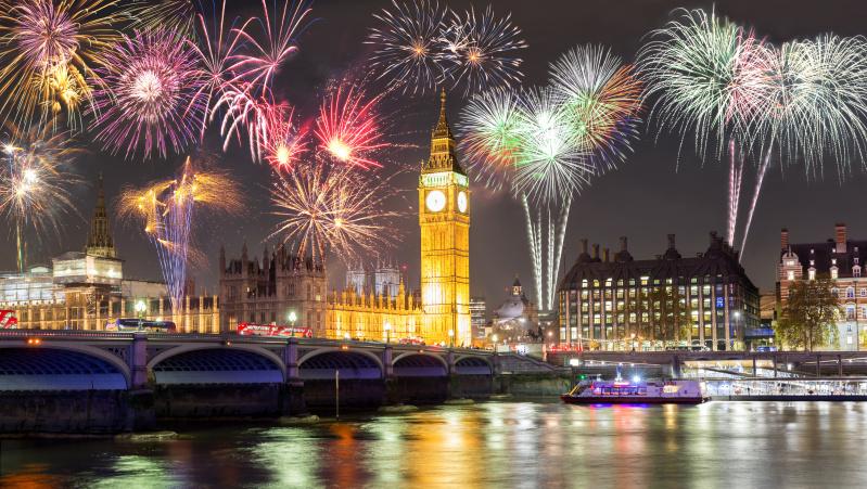 Naujametiniai fejerverkai Londone: geriausios vietos juos stebėti NEMOKAMAI
