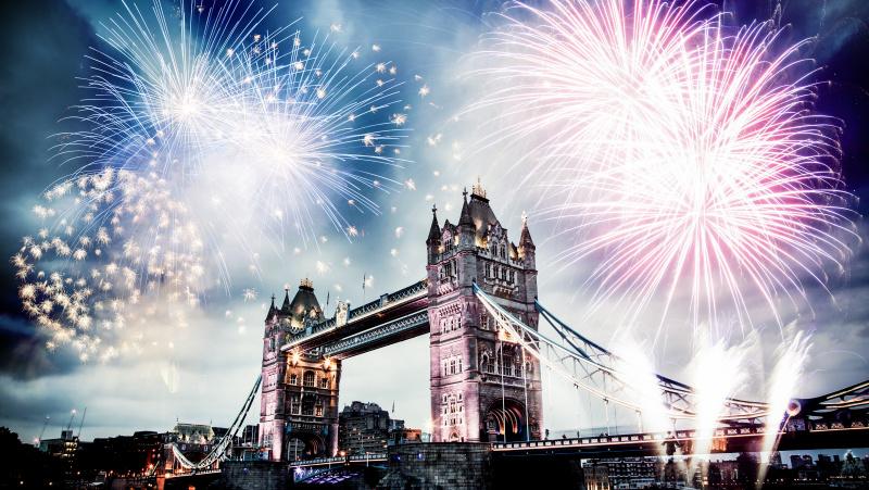 Londono policija perspėja žmones nevykti stebėti naujametinių fejerverkų be bilieto