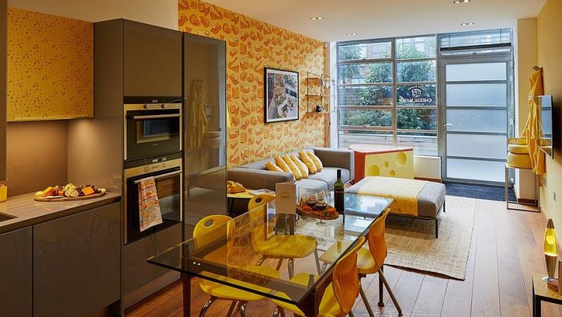 Londone įrengti pirmieji pasaulyje ... sūrio temai skirti apartamentai