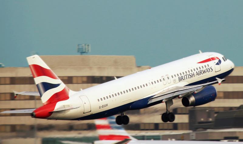 """Dėl audros """"Ciara"""" """"British Airways"""" pasiekė naują rekordą"""