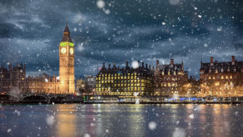 Prognozė: Atlanto sraujymė šią savaitę gali atnešti į Londoną sniego