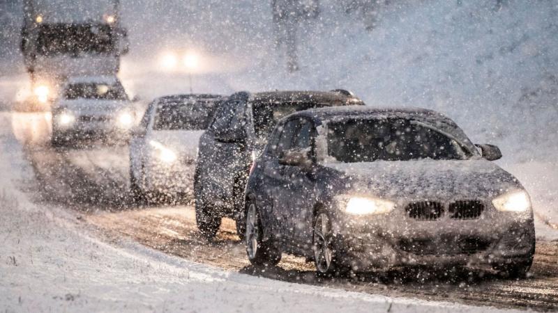 Didelei JK teritorijai paskelbtas perspėjimas dėl sniego ir plikledžio