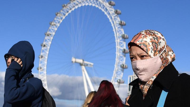 Dėl koronaviruso JK paskelbtas ketvirto lygmens incidentas