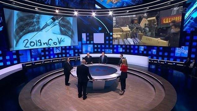 Rusijos valstybinė žiniasklaida dėl koronaviruso pandemijos apkaltino ... Britaniją