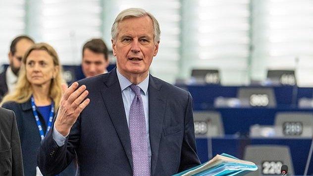 """Koronavirusu užsikrėtė ir ES vyriausiasis """"Brexit"""" derybininkas M. Barnier"""