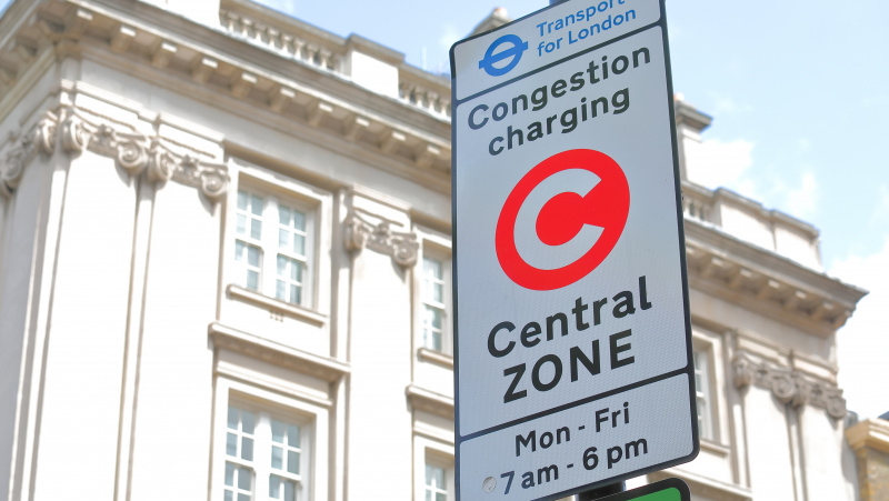 """Congestion charge"" mokestis Londone didės 30 proc."
