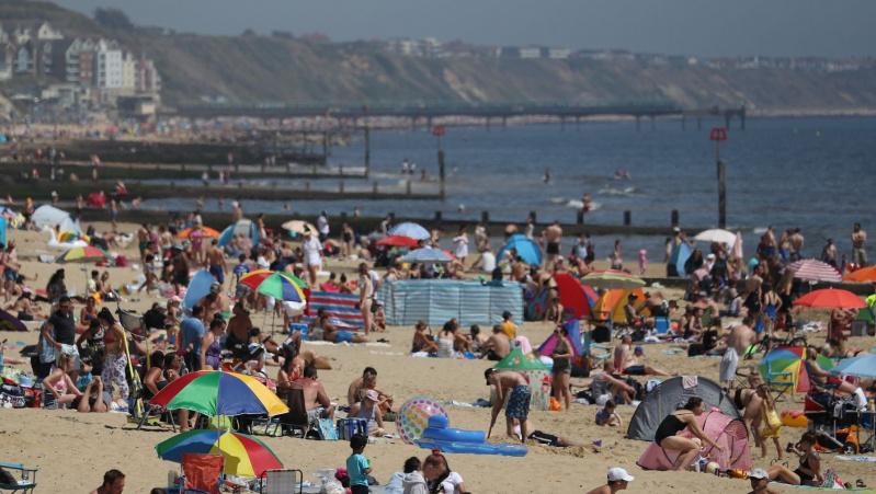 Trečiadienis JK buvo karščiausia diena šiais metais