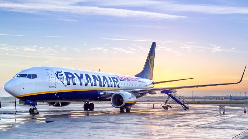 """Liepą visoje Europoje – daugiausia nei 1000 """"Ryanair"""" skrydžių kasdien"""