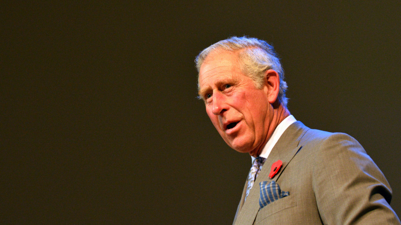 Su princu Charlesu susitikęs prekybos centro darbuotojas nualpo (video)