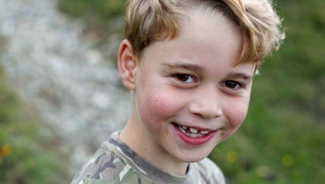 JK princas George'as švenčia septintąjį gimtadienį