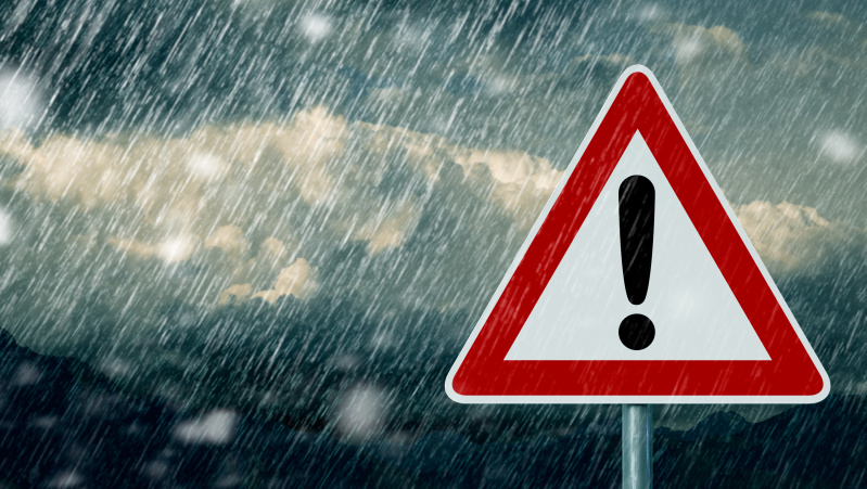JK gyventojai perspėjami dėl artėjančios audros Francis