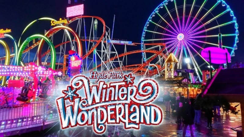 """Dėl koronaviruso atšaukta kasmetinė Londono """"Winter Wonderland"""" kalėdinė mugė"""