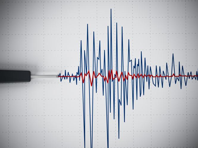Anglijoje įvyko žemės drebėjimas
